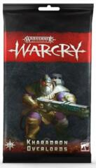 Warcry Cards: Kharadon Overlords