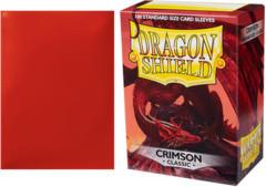 Dragon Shield Box of 100 Crimson