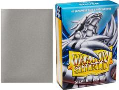 Dragon Shield Box of 60 Japanese Matte Silver
