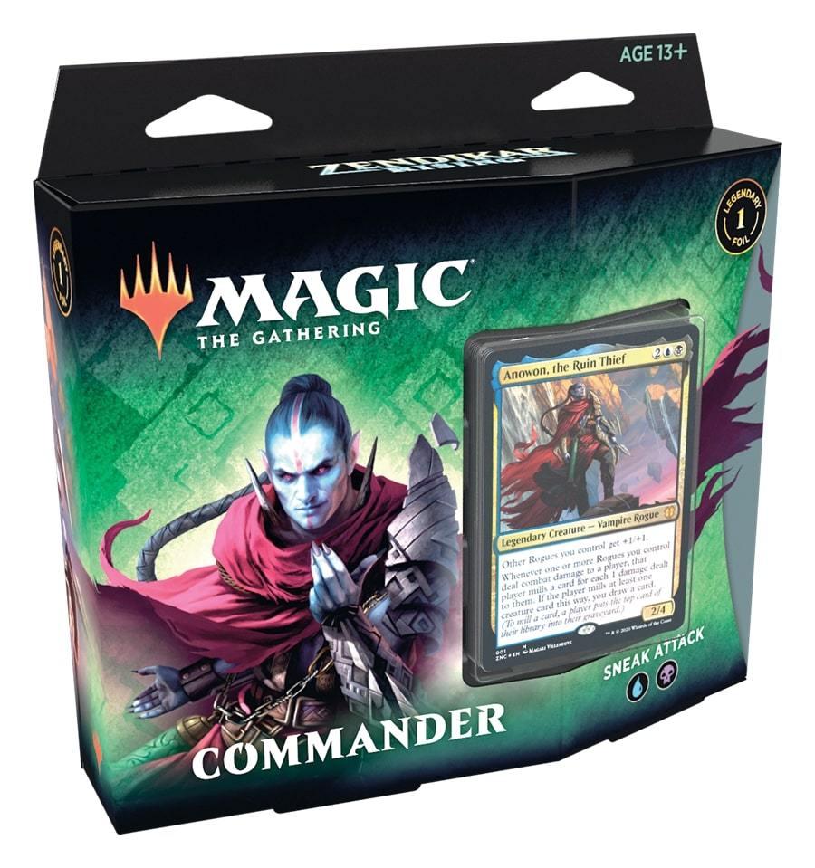 Zendikar Rising - Commander Deck Sneak Attack