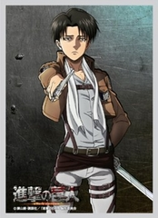 Attack on Titan-Levi Card Sleeves 52 ct.