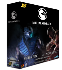 Mortal Kombat Turbo Display