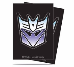 Ultra Pro Transformers Decepticon Sleeves 65 ct.