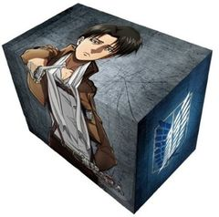 Attack on Titan Levi Deck Box