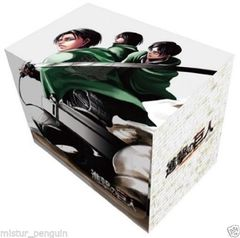 Attack on Titan Levi Mikasa Eren Deck Box