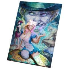 Grimm Fairy Tales Alice in Wonderland Foil Puzzle