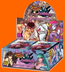 Street Fighter VS. Darkstalkers Booster Display