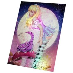 Grimm Fairy Tales Alice and Cheshire Foil Puzzle