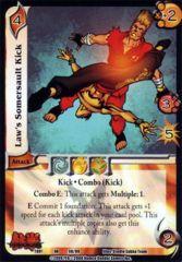 Law's Somersault Kick