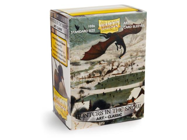 Dragon Shield Sleeves: Classic Art Hunters in the Snow (Box of 100)
