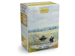 Dragon Shield Sleeves: Classic Art 'Poppy Field' (Box of 100)