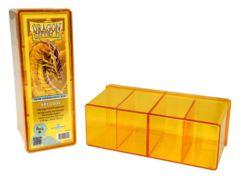 Dragon Shield Four Compartment Box - Yellow
