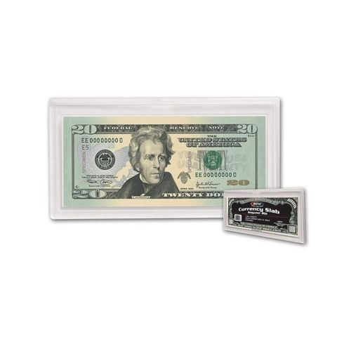 BCW Deluxe Currency Slab - Regular Bill