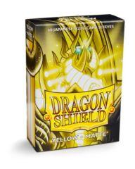 Dragon Shield Mini Japanese Size Matte Sleeves - Yellow