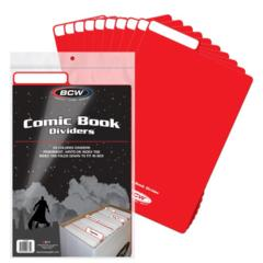 COMIC DIVIDER - RED - Pack of 25