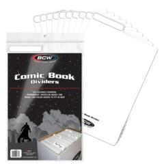 COMIC DIVIDER - WHITE - Pack of 25