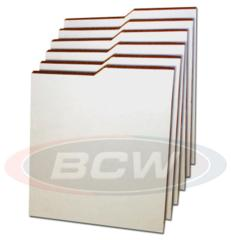COMIC DIVIDERS - 7 1/4 X 10 - CORRUGATED - Case of 36