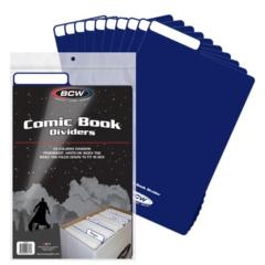 COMIC DIVIDER - BLUE - Pack of 25