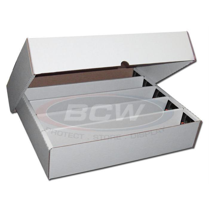 BCW 5000 COUNT STORAGE BOX (FULL LID) 5-Row