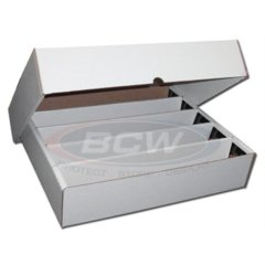 BCW 5000 COUNT STORAGE BOX (FULL LID) 5-Row
