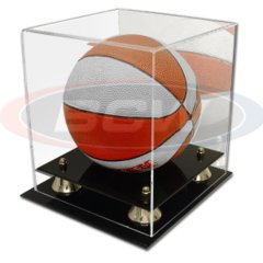 BCW ACRYLIC MINI BASKETBALL DISPLAY - WITH MIRROR - 1-AD14