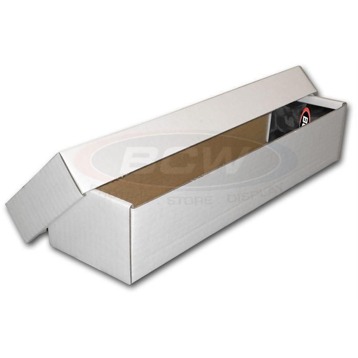 BCW 800 COUNT STORAGE BOX (2 PIECE)