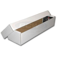 BCW 800 COUNT STORAGE BOX (2 PIECE)