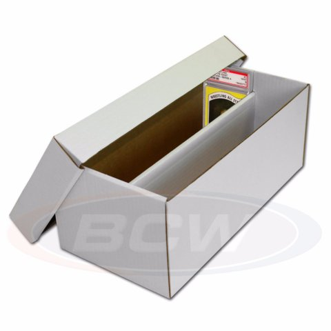 BCW Graded Shoe Box 2-Row