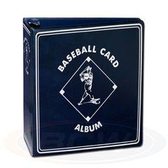 BCW 3 Inch Album - Baseball - Blue