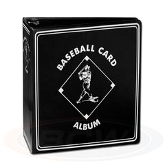 BCW 3 Inch Album - Baseball - Black