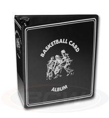 BCW 3 Inch Album - Basketball - Black