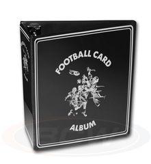 BCW 3 Inch Album - Football - Black