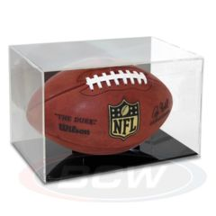 Football Display - Grandstand WITH Mirror Back