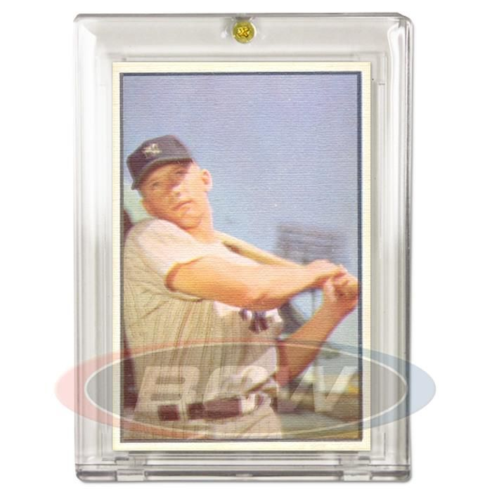 1953-1955 Bowman Card 1-Screw Holder