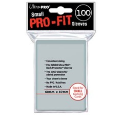 PRO-Fit Small Size Deck Protectors - Pack of 100