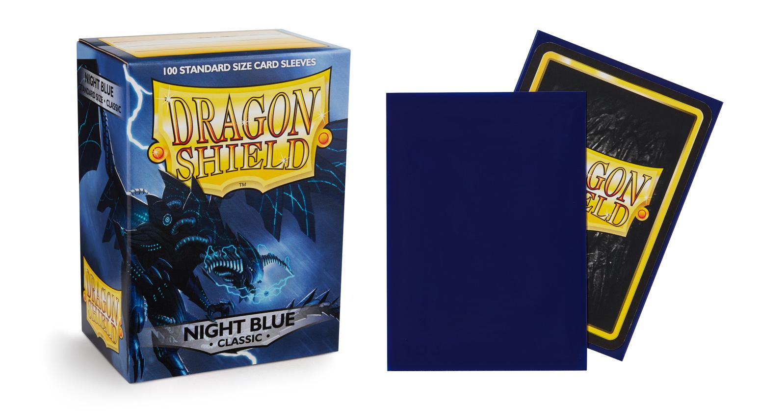 Dragon Shield: Classic NIGHT BLUE (100 ct.)