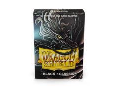 Dragon Shield Mini Japanese Size Classic Sleeves - Black