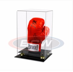 BCW ACRYLIC BOXING GLOVE DISPLAY - WITH MIRROR