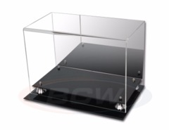 BCW ACRYLIC SHOE DISPLAY - SIZE 16 - WITH MIRROR