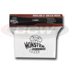 DOUBLE DECK BOX - MATTE WHITE