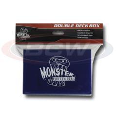 DOUBLE DECK BOX - MATTE BLUE