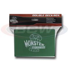 DOUBLE DECK BOX - MATTE GREEN