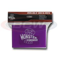 DOUBLE DECK BOX - MATTE PURPLE