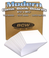 BULK MODERN CURRENT BACKING BOARDS - 6 5/8 X 10 1/2 - Case of 1000