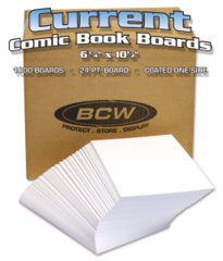 BULK CURRENT BACKING BOARDS - 6 5/8 X 10 1/2 - Case of 1000
