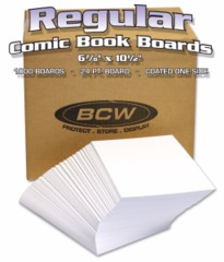 BULK REGULAR AGE BACKING BOARDS - 6 7/8 X 10 1/2