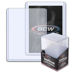 BCW TOPLOAD HOLDER - 3 X 4 X 4.25 MM - 168 PT. THICK CARD - Pack of 10