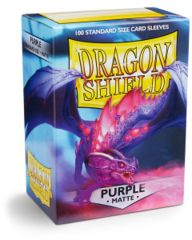 Dragon Shield Standard Sleeves Matte - Purple