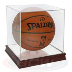Basketball Holder - Grandstand WITH Wood Base