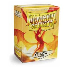 Dragon Shield Standard Sleeves Matte - Yellow